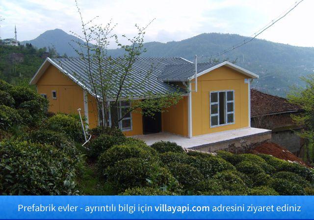 Prefabrik evler - http://villayapi.com