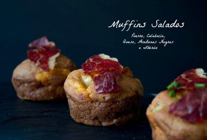 Gluten Free and Dairy free Salty Muffins. Muffins salados sin gluten ni lactosa, (aptos para intolerantes a la proteina de la leche de vaca).