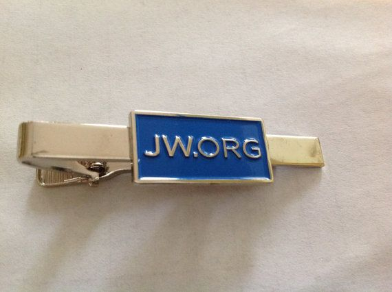 Free Shipping to US!    Super High Quality Metal JW.org TieClip for Jehovahs Witnesses.    Great gift for yourself or fellow Jehovahs Witness. Made
