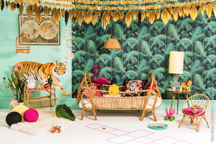 Papier peint Palm Jungle de la collection Contemporary restyled de Cole and Son