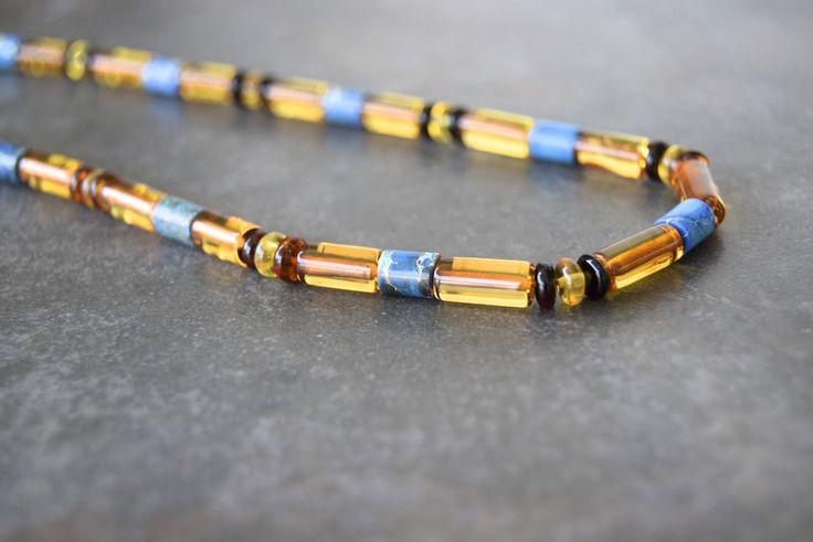 Ámbar - Collar de ambar con granos de Regalite UNISEX - hecho a mano por…