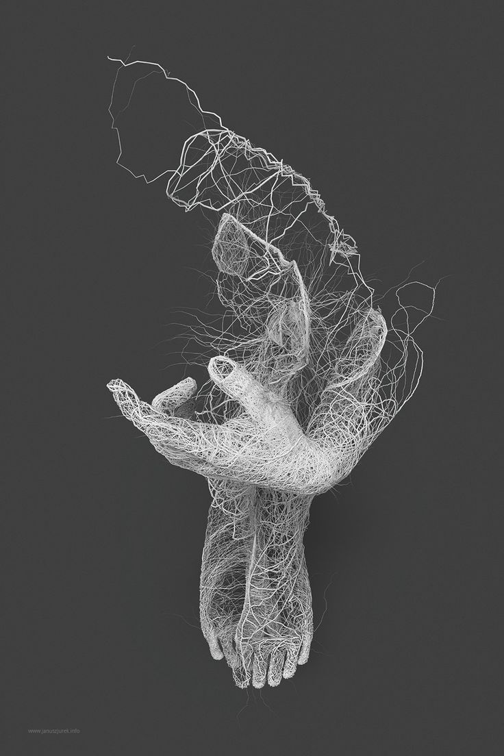 Over the last year, Polish designer and illustrator Janusz Jurek has been exploring different forms of generative illustration as it relates to the human form. Some of my favorites are collected into a series title Papilarnie where bundled lines that look like lightning or roadways on maps converg
