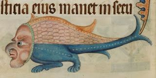 The Grotesques of the Luttrell Psalter