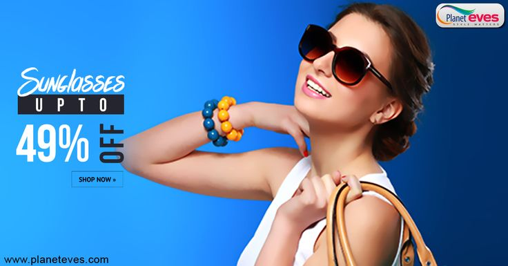 Upto 49% OFF!! #Women's #Sunglasses at Planeteves.com. New Collection in #Opium #Sunglasses for Women with Pay on Delivery. Register & Get Rs.200/- Gift Coupons with Limited Time Offers.