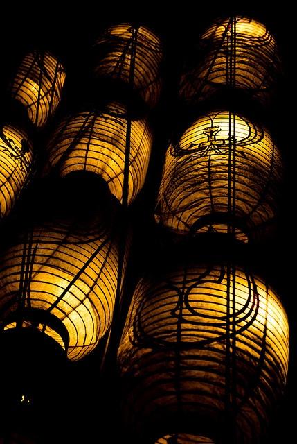 Japanese Lanterns for Kyoto Gion Festival