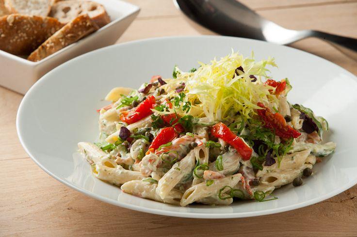 Koude pastasalade met HEKS'NKAAS® - HEKS'NKAAS®