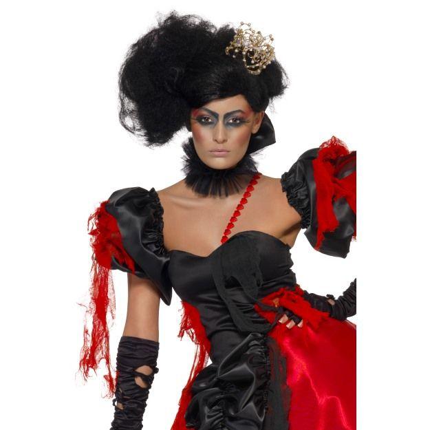 Twisted Queen Of Broken Hearts Wig Black