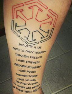 sith tattoos - Google Search