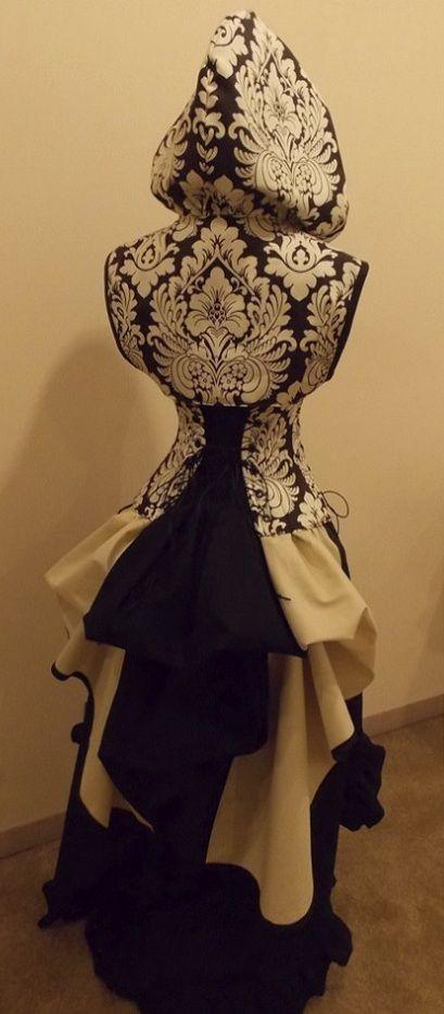 Enchanting Dutchess Under-bust Corset Set - renaissance clothing, medieval, costume