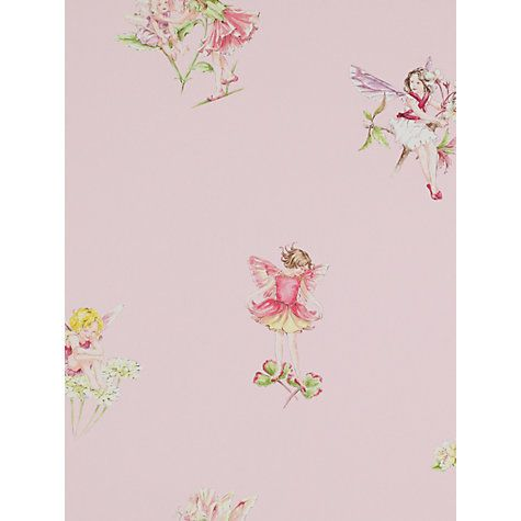 Buy Jane Churchill Flower Fairies Wallpaper Online at johnlewis.com