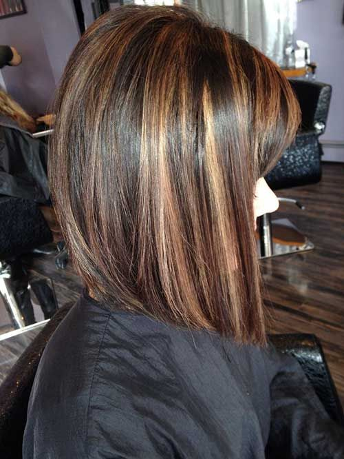 chocolate hair styles 17 best ideas about highlighted bob on ashy 2377 | c9874f1422006c0233a83108a0620311