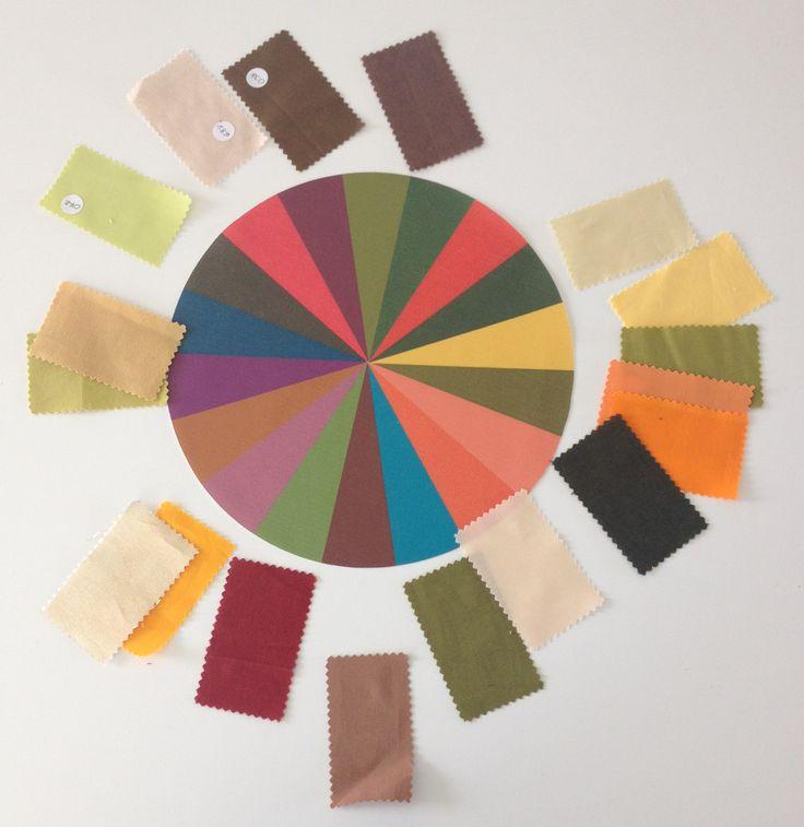 Kleurschijf Herfst : leuk als decoratie of te gebruiken voor sorteeroefening