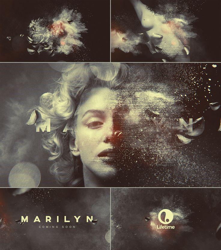 THE SECRET LIFE OF MARILYN MONROE on Behance