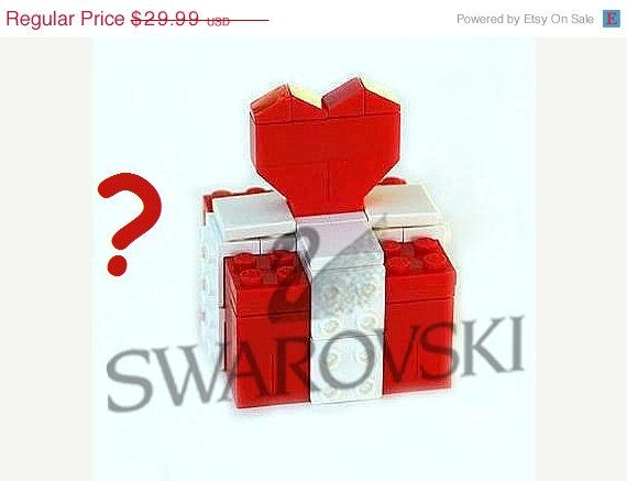 ON SALE Surprise gift made from LEGO R bricks by MademoiselleAlma, $20.99