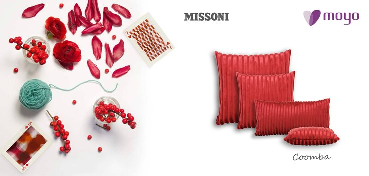 We're still in love with the touch and the colors of Missoni Home Milano!!!! Discover more http://goo.gl/ZfH2ke