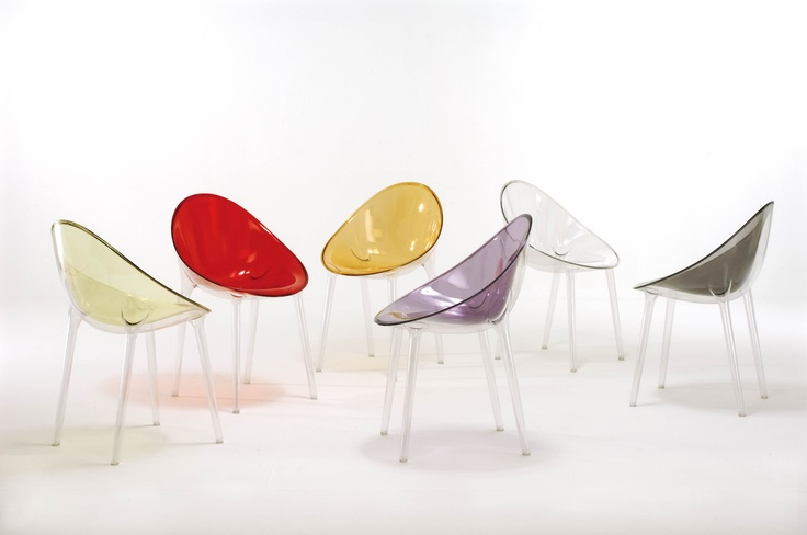 Philippe Starck | Mr. Impossible - A most inviting chair with an organic design that inspires comfort, neatness and style.  Mr. Impossible is the combination of sophisticated design and advanced plastic processing design.