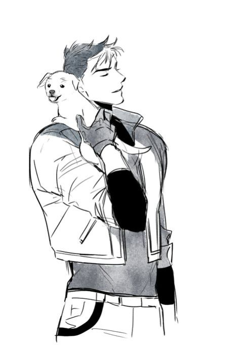 if DC gives Jason a dog, I will love them forever.