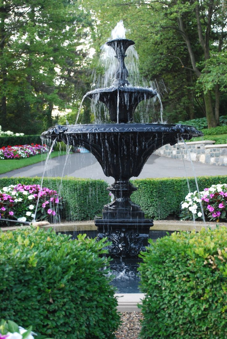 574 best images about landscaping fountains and water for Front garden features