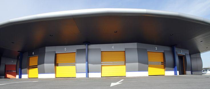 Impresionantes instalaciones las de la #ITV de #Oviedo. Nosotros suministramos las #puertas! #puertasrapidas #speeddoor #door #Asturias #productos #AngelMir
