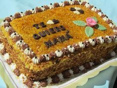 La Juani de Ana Sevilla: Tarta San Marcos o pastelitos