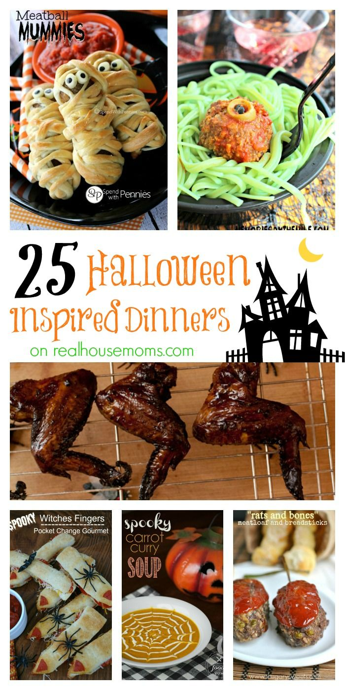 25 halloween inspired dinners - Scary Halloween Meatballs