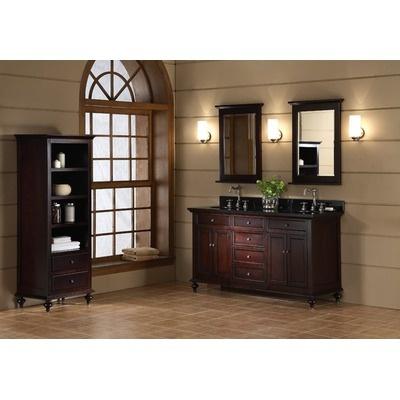 Photos Of Xylem Glenayre Bathroom Vanity Cabinet Collection in Dark Espresso