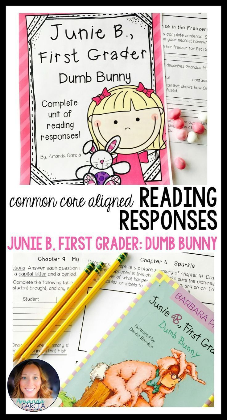 Students love Junie B. Jones novel studies! And this one is perfect for  Easter! These activities take your readers through each chapter of Junie  B., ...