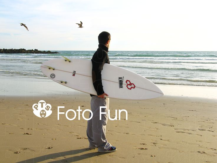 Surfer in Winter, Cadiz