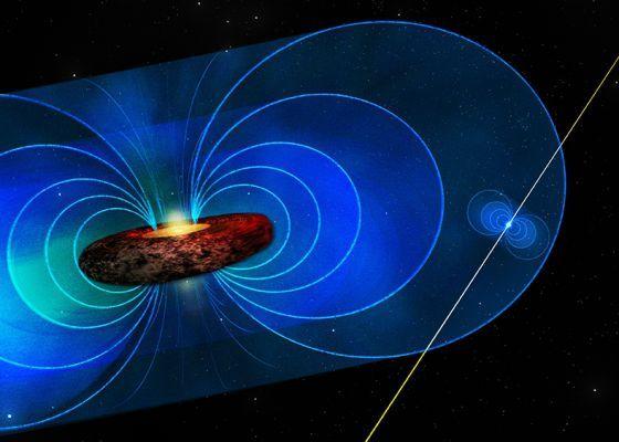 Los astrónomos 'se asoman' al entorno del gran agujero negro de la Vía Láctea