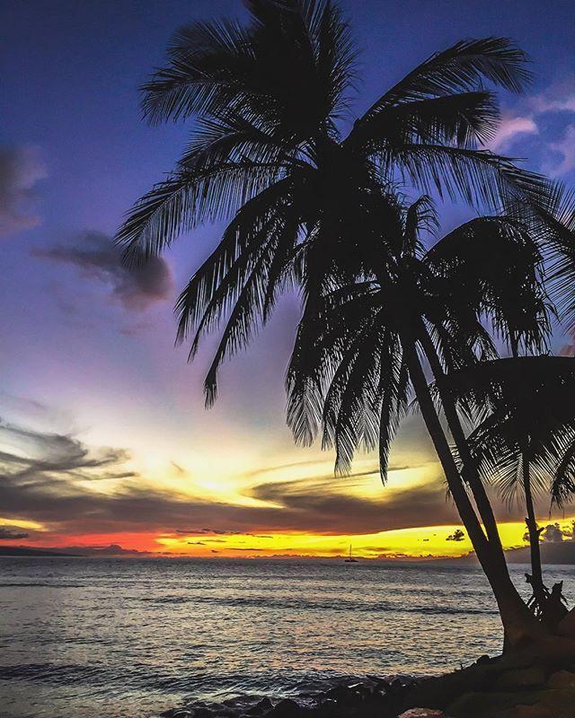 Lahaina, Hawaii   #Sunset in paradise 🌅#Maui #Hawaii 🏝  sunset,maui,hawaii