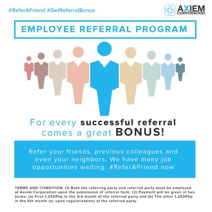 employee referral program template template