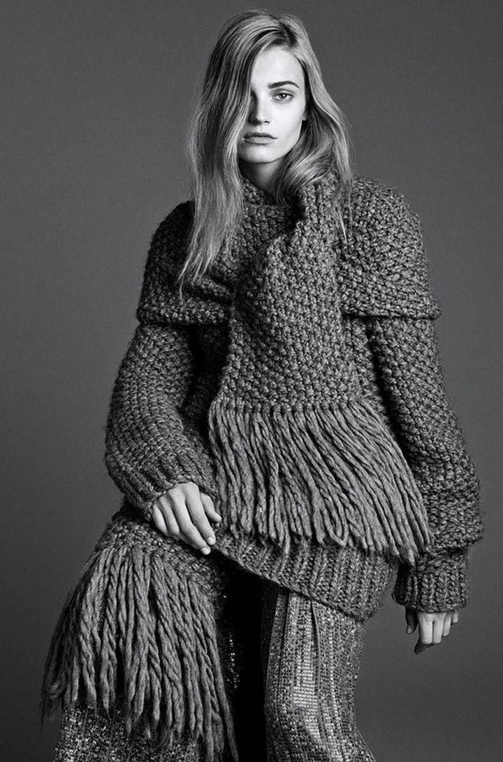 The-Gray-Lady-Anna-Jagodzinska-By-Lachlan-Bailey-For-Wsj-September-2014 | DeSmitten
