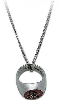 Naruto Necklace - Itachi's Akatsuki Ring (Suzaku)