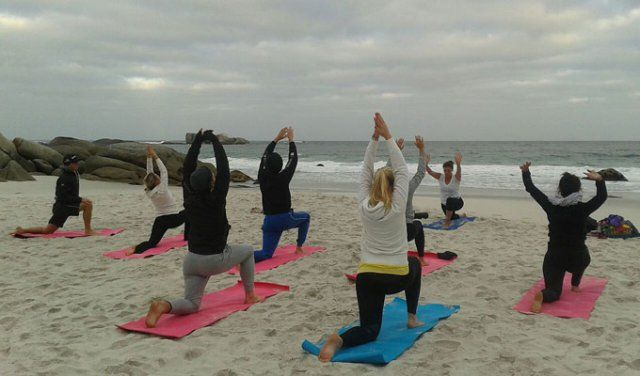 The Om Revolution Yoga Classes in Cape Town   Private Beginners Class, Outdoor Advanced Sessions and Corporate Vinyasa Lessons in Capetown