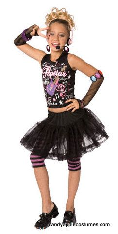 girls 80s pop star costume candy apple costumes girls costumes - 80s Dancer Halloween Costume