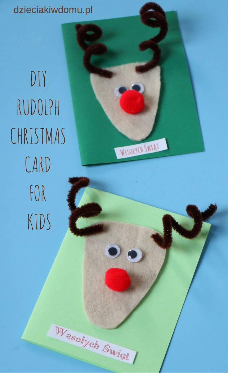 diy-christmas-card for kids