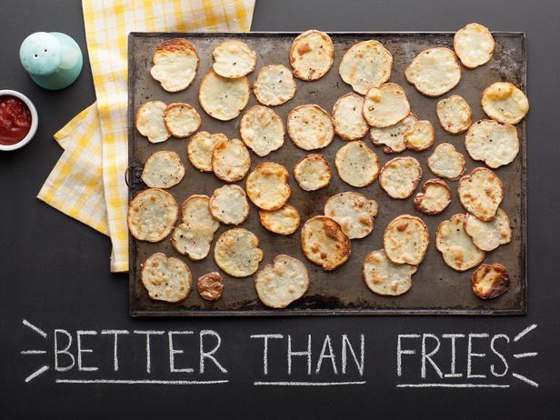 Crispy Sliced Roasted Potatoes
