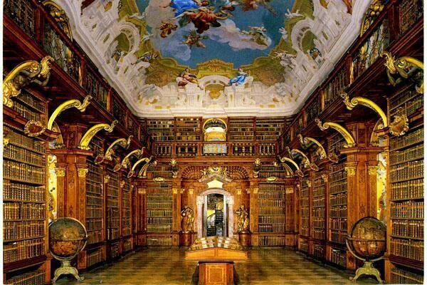 メルク修道院の図書館