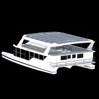 Shuttleworth Design - 60FT ELECTRIC SOLAR POWER CATAMARAN