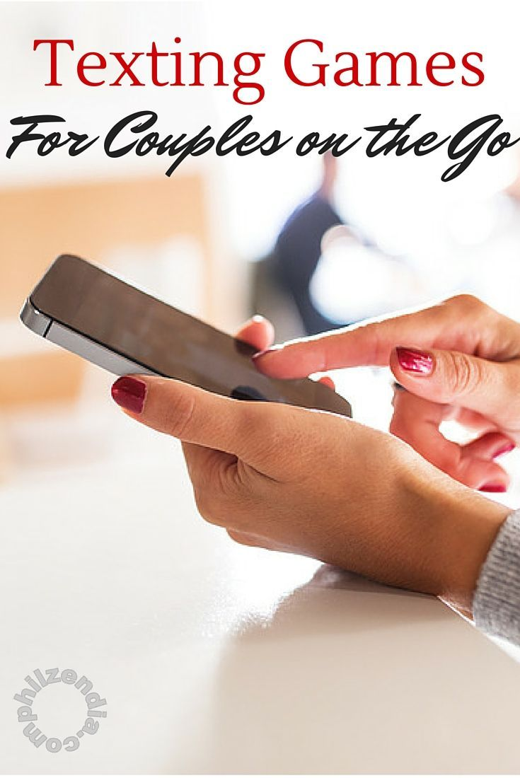 4 Fun Texting Games For Couples on the Go