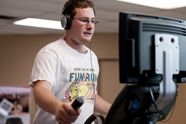 At the YMCA of Simcoe/Muskoka, try out all our exercise equipment including the elliptical machine
