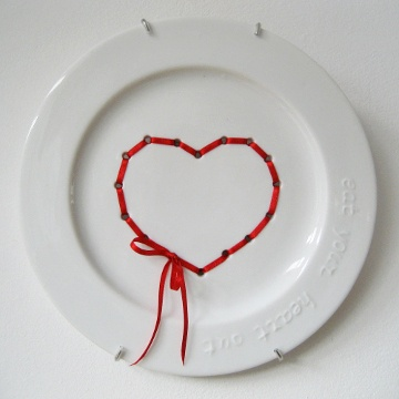 plate 'eat your heart out'