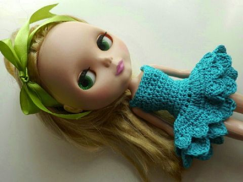 blythe crochet dress crocheting