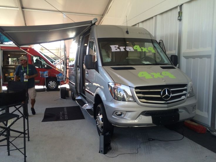 With the addition of the Sprinter 4x4 to the North American market, Winnebago now offers a 4WD Mercedes camper van