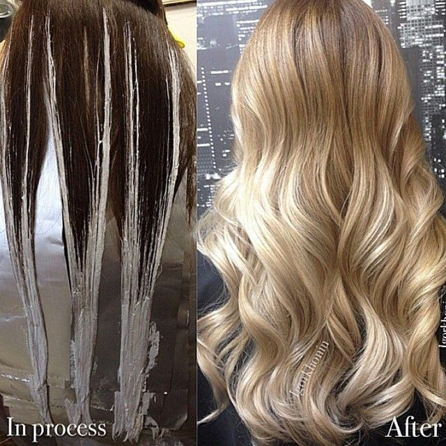 * Another one... transformational blonde BY MUST SEE IG ...