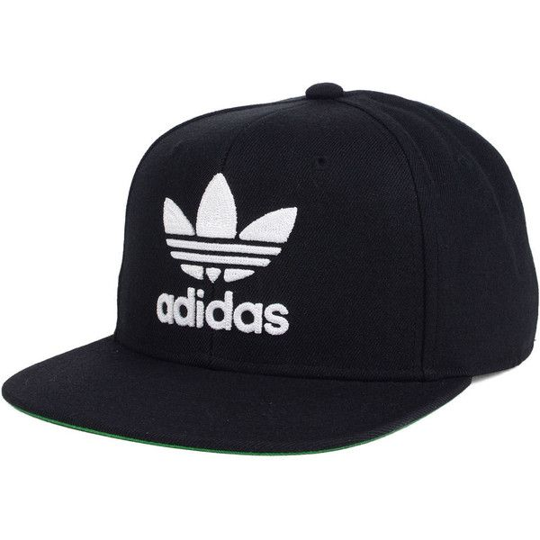 adidas Trefoil Chain Snapback Cap ($28) ❤ liked on Polyvore featuring accessories, hats, cap snapback, snap back cap, adidas, adidas cap and snapback cap