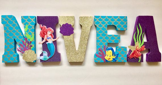 Mermaid Letters