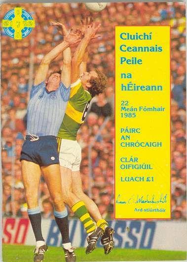 1985 All-Ireland Senior Football Final programme, Dublin v Kerry