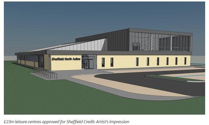 Flood Precast Super Wideslab® installed at Graves Leisure Centre & NCSEM HQ Sheffield