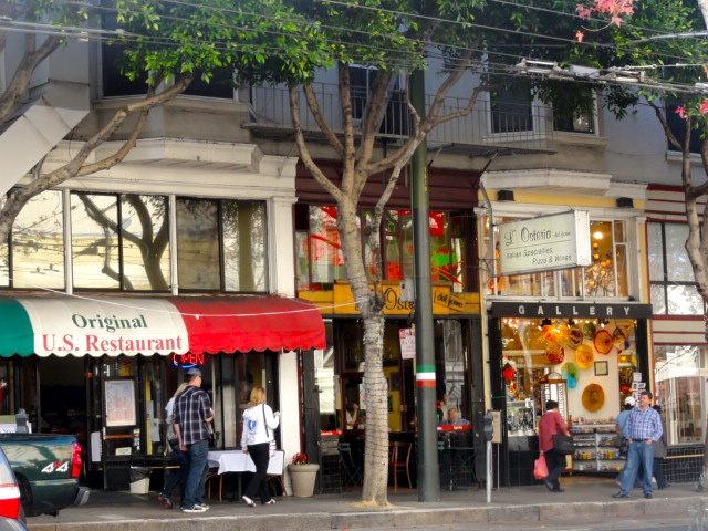 Little Italy San Francisco Columbus Ave North Beach If You Re Going To Pinterest California And Places